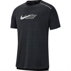 Nike DF Miller Flash SS heren hardloopshirt zwart