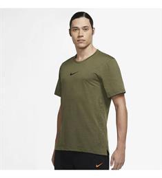 Nike Dri-Fit Burnout heren sportshirt groen
