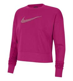 Nike DRI-FIT GET FIT WOMENS SWOOS dames sportsweater pink