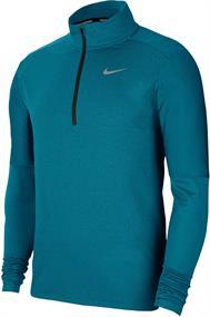 Nike DRI-FIT MENS 1/2-ZIP RUNNING heren hardloopshirt lange mouwen jade