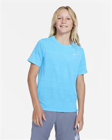 Nike Dri-Fit Miller Big Kids jongens sportshirt blauw