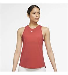 Nike Dri-Fit One dames singlet rood