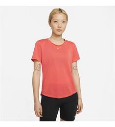 Nike Dri-Fit One Stand dames sportshirt zalm
