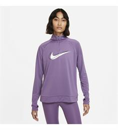 Nike Dri-Fit Swoosh Run dames sportsweater paars