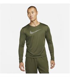 Nike Dri-Fit Uv Run Division heren sportsweater donkergroen
