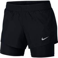 Nike Dry 2in1 Short 10K dames sportshort zwart