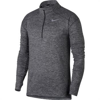 Nike Dry Element Top Heren hardloopshirt lange mouwen antraciet