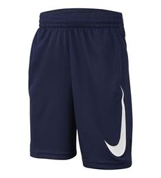 Nike Dry Fit Basketbal Short Boys jongens sportshort marine