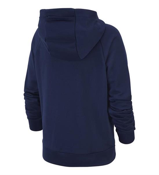Nike Dry Hoodie jongens sportsweater marine