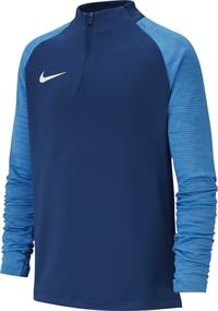 Nike Dry Strike Dril Top junior voetbaltrui marine