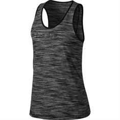 Nike Dry Studio dames singlet zwart