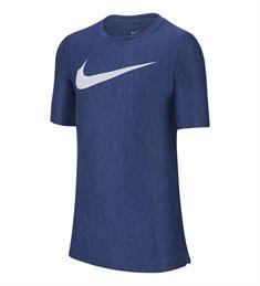 Nike Dry Top SS jongens sportshirt blauw