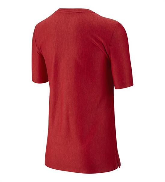 Nike Dry Top SS jongens sportshirt rood