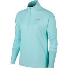 Nike Element Top dames hardloopshirt lange mouwen bleu