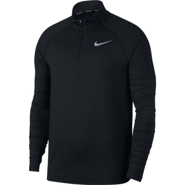 Nike Element Top HZ 2.0 heren hardloopshirt lange mouwen zwart