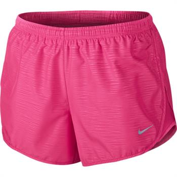 Nike Embossed Tempo Short Dames sportshort rose