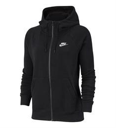 Nike Essential Hoodie dames sportsweater zwart