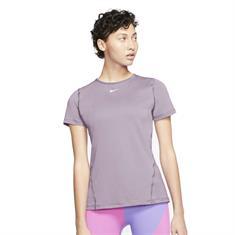 Nike Essential Top dames sportshirt lila