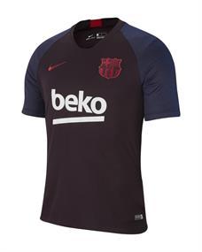 Nike FC Barcelona Trainingsshirt heren voetbalshirt aubergine