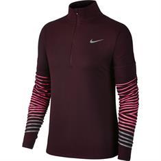 Nike Flash element Top dames hardloopshirt paars
