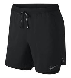 Nike Flex Stride heren sportshort zwart