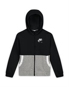 Nike Full Zip Air hoodie meisjes sweater zwart