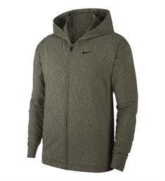 Nike Full Zip heren sportsweater antraciet