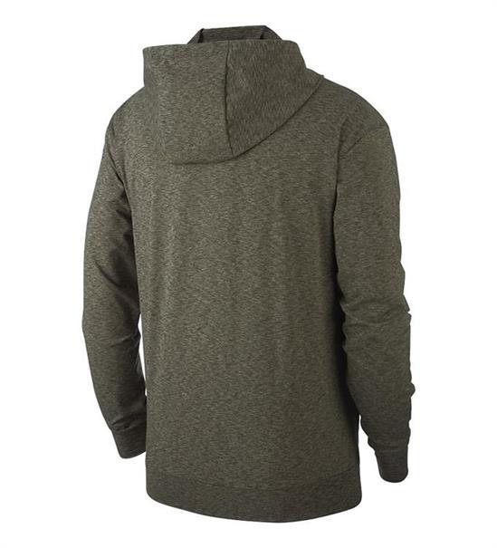 Nike Full Zip heren sportsweater antraciet