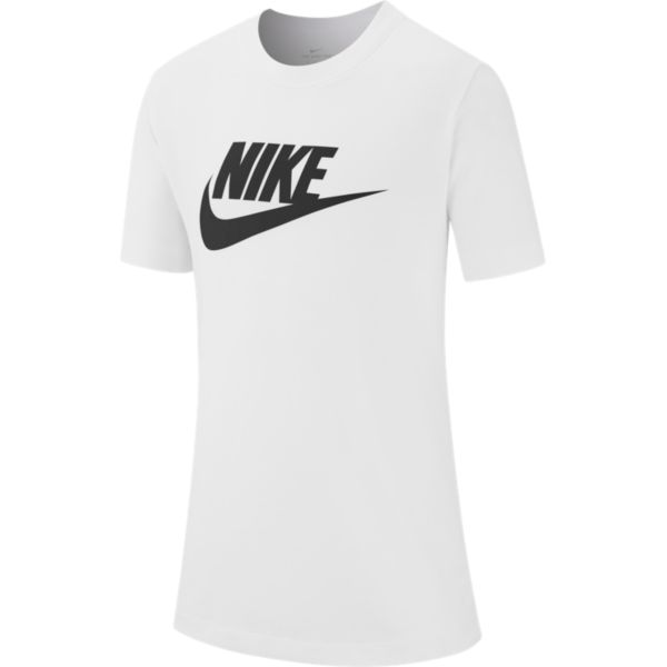 Nike Futura Icon jongens sportshirt wit