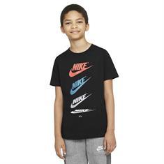 Nike Futura Repeat jongens shirt zwart