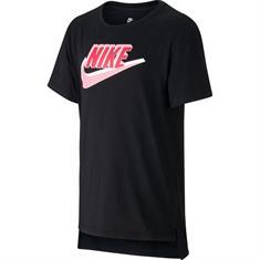 Nike Hilo Futura meisjes sportshirt zwart