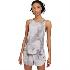 Nike Icon Clash City Sleek dames singlet licht grijs