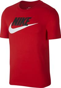 Nike Icon Futura heren shirt rood