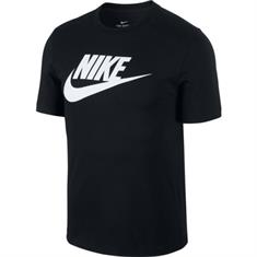 Nike Icon futura Tee heren sportshirt zwart