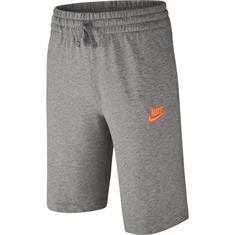 Nike Jersey Short jongens sportshort antraciet