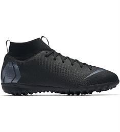 Nike JR SUPERFLY 6 ACADEMY GS TF.BLACK/B kunstgras voetbalschoen zwart