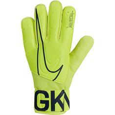 Nike keeperhandschoenen geel