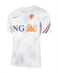 Nike KNVB M NK BRT TOP SS PM heren voetbalshirt wit