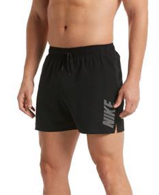 Nike Logo solid short heren beach short zwart