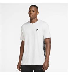 Nike M NSW CE SS Knit Top SNL heren sportshirt licht grijs