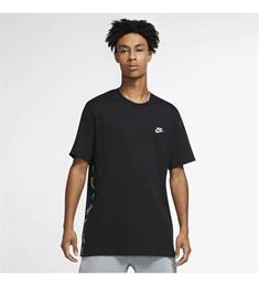 Nike M NSW CE SS Knit Top SNL heren sportshirt zwart