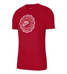 Nike M NSW SS TEE BTS FUTURA heren sportshirt rood