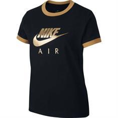 Nike meisjes sportshirt zwart