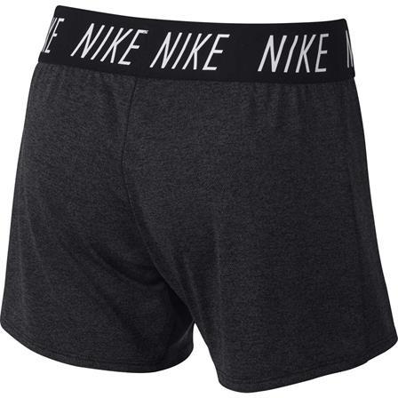 Nike meisjes sportshort antraciet