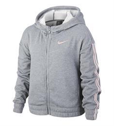 Nike meisjes sweater midden grijs