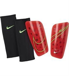 Nike MERCURIAL LITE SOCCER SHI.BRIG scheenbeschermers rood
