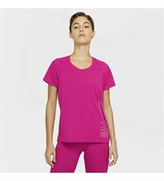 Nike MILER ICON CLASH WOMENS.FIRE dames hardloopshirt pink