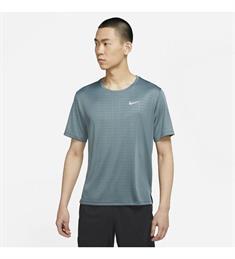 Nike Miller Run Division heren sportshirt donkergrijs