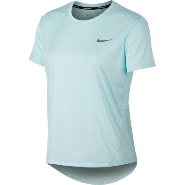 e652f8e2488 Nike Miller Top SS Dames hardloopshirt bleu - Hardloopshirts - Dames ...