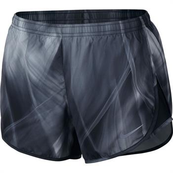 Nike Mod tempo short Dames hardloopshort antraciet